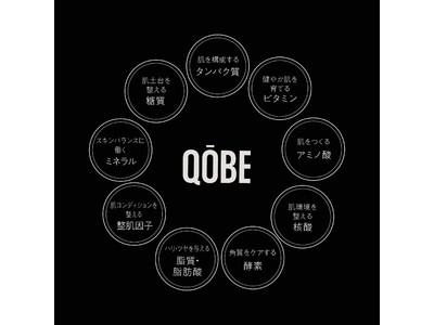 島袋聖南、スキンケアブランド【QOBE】より、「純国産非分解100%プラセンタ原液」を原料とした美容液を2月7日より発売!