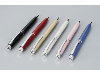 きらめくボールペンに、心ときめく スワロフスキー(R)・クリスタルをボディに装飾した女性向けボールペン  「アレッタ」 12月12日(木)発売