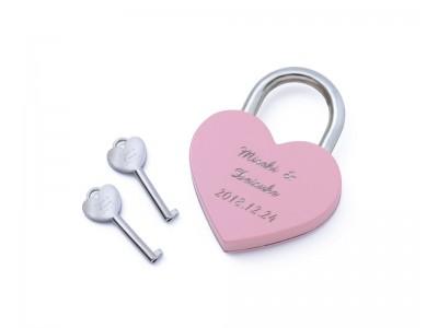 12/21(金)より、THE KISS アクアシティお台場店にて「LOVE & HAPPY PADLOCK(南京錠)」サービスを開始!!