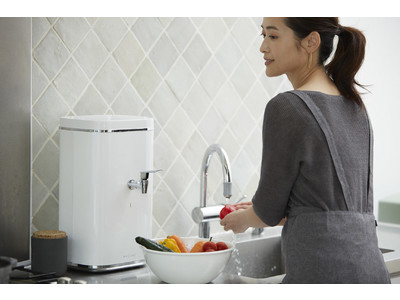 健康・食・美の新たな生活基準を作る浄水システム「WACOMS WATER SYSTEM」 新発売