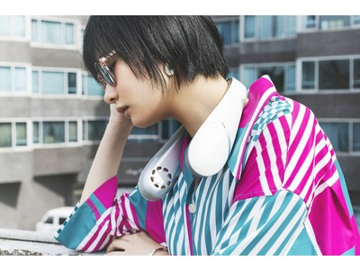マイナスイオン発生機能付き新感覚ハイブリッドネックファンKirala Air「Nino」を7月15日(木)に発売開始