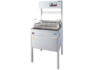 厨房のテクノロジー化を進める、ラックランドグループのマッハ機器株式会社、新製品「地震感震器対応フライヤー」を11/1より販売開始