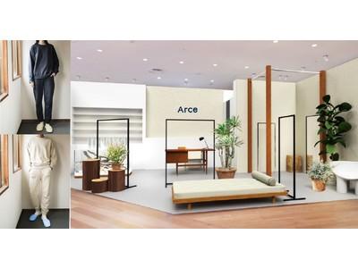 ジェンダーフリーのルームウェアD2Cブランド『Arce(アルセ)』、渋谷パルコにて関東初のPOP UP STOREを開催!