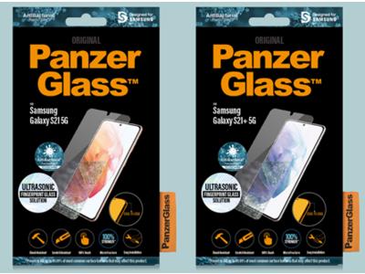 最新技術の超音波指紋センサー搭載のGalaxy S21・S21+5G対応の保護ガラスフィルムをPanzerGlass(パンザグラス)が4月22日(木)より予約受付開始!