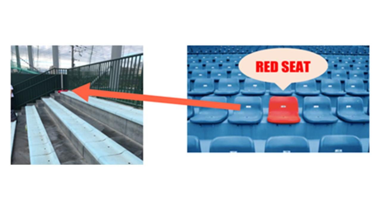 スタジアムにおけるAED迅速化システム「RED SEAT」実証実験をZOZOマリンスタジアムにて実施します