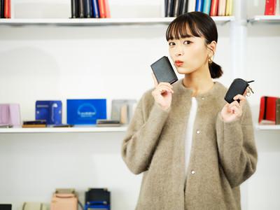 イタリア製レザーブランドL'arcobalenoが、ファッションモデル近藤千尋さんとのコラボ財布・革小物をリリース
