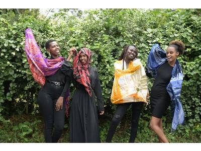 """日本初上陸!アフリカの難民女性が作るブランド""""RefuSHE(レフュシー)"""