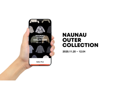 NAUNAU '2020 冬のアウターコレクション'特集、人気インフルエンサー30人がセレクトしたアウター商品を期間限定公開!