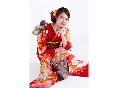 <札幌市>振袖レンタル&購入の『#振袖gram』が日本代表応援キャンペーンで赤色の振袖を2万円引きでレンタル&販売