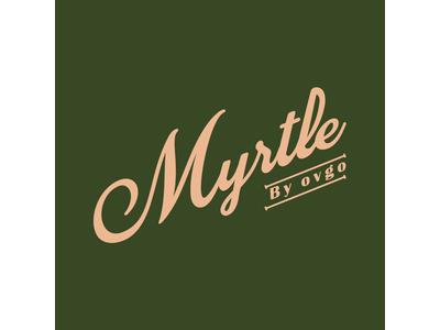 株式会社ovgoが手がける、心にも身体にも優しいグルテンフリー&ヴィーガンの新シリーズMyrtle by ovgo(マートルバイオブゴ)が7月7日(水)より販売をスタート