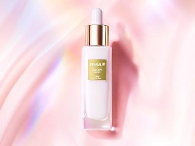 モダンボタニカルスキンケアブランド FEMMUE<ファミュ>から、バウンスするような水光肌へ導く美容液「グロウドロップス」が新発売