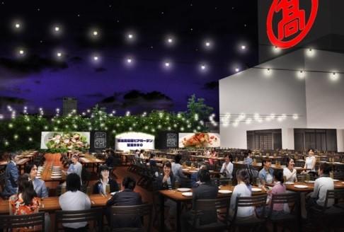 【横浜高島屋】4月23日(金)、ビアガーデンがオープン!コロナ禍における屋外での飲食需要、ゴールデンウィークの近場需要にお応えし、昨年より77日間延長!プレミアムプランもご用意!!