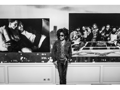ドン ペリニヨン×レニー・クラヴィッツのコラボレーション「ASSEMBLAGE : A LENNY KRAVITZ PHOTO EXHIBITION Inspired by Dom Perignon」