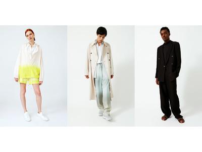 「OVERCOAT」の2021春夏コレクションがオンラインストアに登場。世界的グラフィックデザイナーPeter Milesとのコラボや新作を携え、京都Node Hotel他全国4都市でPOPUP開催。