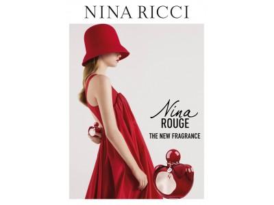 ニナ リッチより、ブランドを象徴するフレグランス「ニナ」を受け継いだ、「ニナ リッチ ニナ ルージュ」を発売
