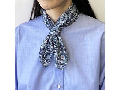 『インターモード』から、春先から猛暑対策まで活躍する保冷剤付きクールスカーフが新登場!