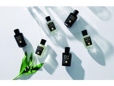 LVMHグループ傘下のアクア ディ パルマより、「シグネチャー オブ ザ サン」コレクション に2 つの新しい香り「リリー オブ ザ バレー」「 ウード アンド スパイス」 登場