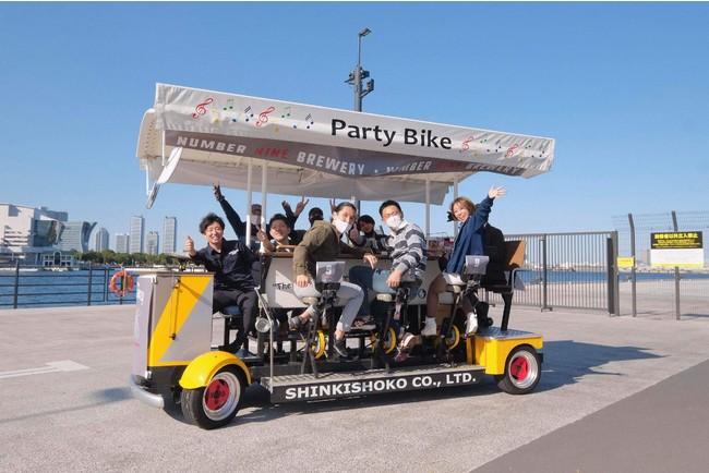 クラフトビールの街「横浜」で、自転車とビールを掛け合わせたビアバイクのツーリズム実施!