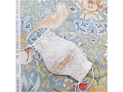 高級刺繍レースのフォーマルマスク「COCOオリジナルマスク」 リニューアル発売を開始