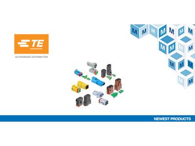 マウザーが過酷な環境下の商用車取付用のTE Connectivity社製DT-XT防水コネクタシステムが登場