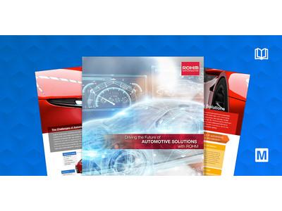 マウザーとローム、共同で次世代電気自動車のパワーソリューションに関するeBookを発表