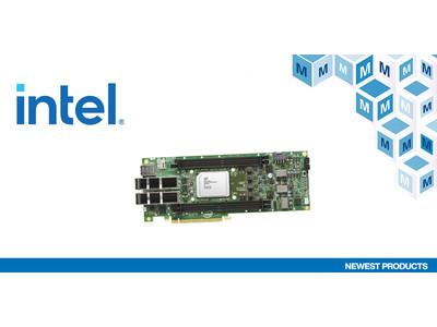 マウザー、「PCIe 4.0設計用インテルAgilex FシリーズFPGA開発キット」新規取り扱い開始のお知らせ
