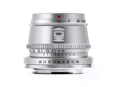 銘匠光学 TTArtisan 35mm f/1.4 C シルバー 先行予約開始