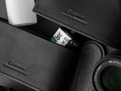 cam-in X線保護 フィルムケース35mmフィルム用・中判フィルム用 新色ブラック 発売