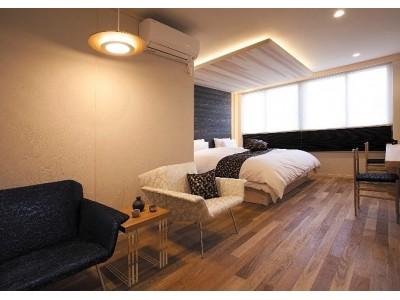 ROOMBLOOMが木目を活かしたペイントデザインを提案 ~京都府で宿泊施設「Villa法然院西」に採用されました~
