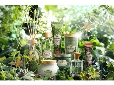 SABONより、自然への賛美をテーマにした『ブリスフル・グリーン リミテッドコレクション』が4/22(木)数量限定で登場。心洗われるような、清らかな抹茶の香りのアイテムを多数展開。