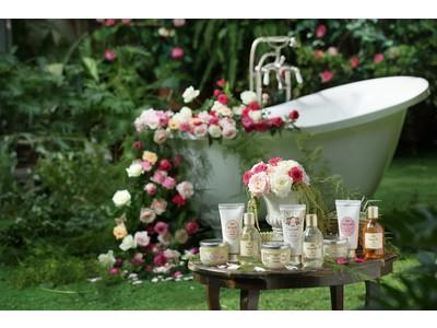 魅惑的なローズの香りに誘われて、秘密の花園へひとときのエスケープ SABON ローズフェスティバル 2月18日(木)限定発売!