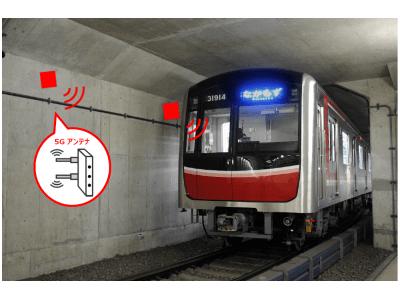 日本初、鉄道トンネル内5G基地局シェアリングの実証実験を開始