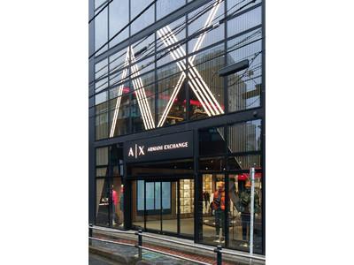 【A|Xアルマーニ エクスチェンジ】世界初のコンセプトストア「A|X HARAJUKU Cat Street」がオープン!