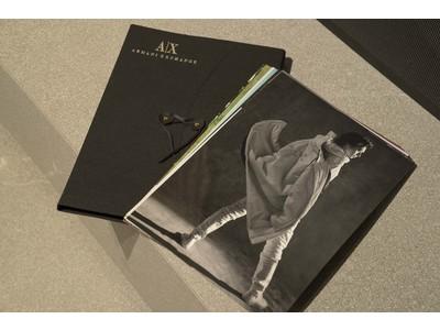 【A|X アルマーニ エクスチェンジ】山崎賢人とレスリー・キーのコラボレーション企画