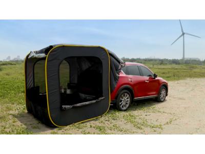 車に連結できるテント 「CARSULE(カースル)」をアウトドアフェスに出展します!~万博記念公園にて開催~