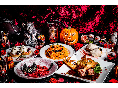 ウイルスへの反撃は魔界から!ローズ伯爵開催のハロウィンパーティで反撃せよ!銀座レストラン ヴァンパイアカフェ「ドラキュラ城のブラッディーハロウィンコース」待望の全貌公開!