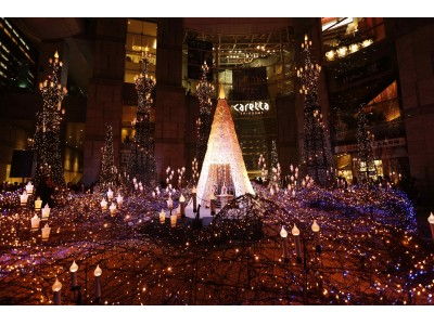 ロマンティックなイルミネーション・きらめく夜景・心躍るクリスマスツリー・・・クリスマス気分満喫ポイントが揃う「プレミアムレストラン」!