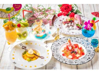 【大阪&名古屋】「#アリスレストラン」に、カラフルな7色メニューが登場!「アリスのカラフルサマーパーティ」開催!
