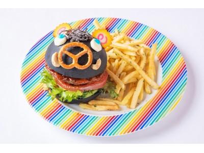 """日本の文化""""干支""""を原宿KAWAII風に表現した「猪突猛進バーガー」「ウリボーケーキ」が期間限定で登場!「2019ウェルカムニューイヤーメニュー」販売【KAWAII MONSTER CAFE】"""