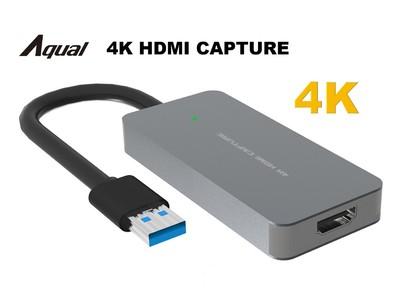 Win&Mac対応 1080P120fpsで録画もできる。Aqual 4K HDMIキャプチャを10月初旬より販売開始
