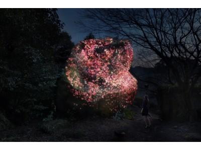 チームラボが50万平米の大庭園、御船山楽園(佐賀・武雄)にて開催する「チームラボ かみさまがすまう森のアート展」にて、新作の追加が決定。全13作品を展示。2017/7/14~10/9