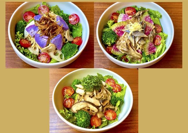 【日本初】サラダパスタ専門店のSalaSpaが送る<食欲の秋>をたっぷり感じる秋季限定サラダパスタ3種類を発売