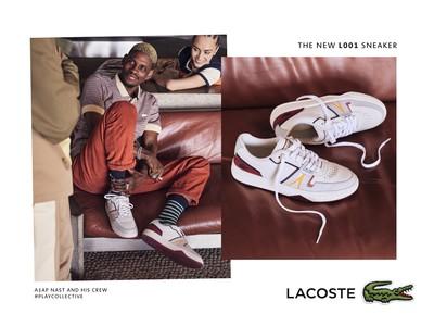 ラコステが豊かな歴史を持つエレガントなスニーカー、L001を発売