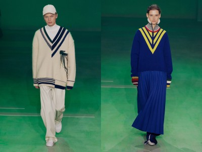 AUTUMN/WINTER 2019 LACOSTE RUNWAY COLLECTION