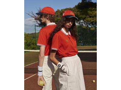 """オフコートでも着られる新しいテニスルックを提案""""TENNIS GENERATION"""""""