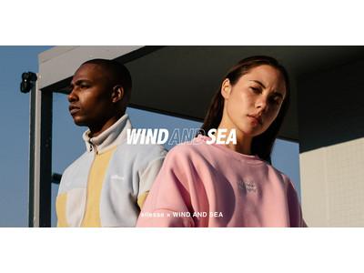 「ellesse×WIND AND SEA 」WIND AND SEAと手掛ける初めてのコラボレーションコレクション