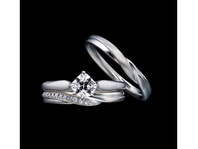 限定100ピースのファビオラカットを日本限定で入荷ダイヤモンドの中心に浮かびあがる花びらは、二人だけの一輪の花「Belle Fabiola(ベル ファビオラ)」発売