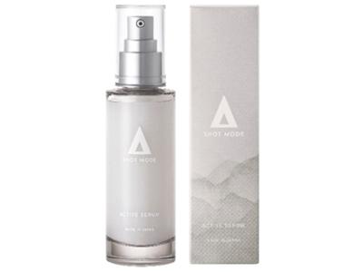 マイクロニードル化粧品ブランド「SHOT MODE」ダメージに負けないゆるぎない肌を目指した「アクティブセラム」新発売