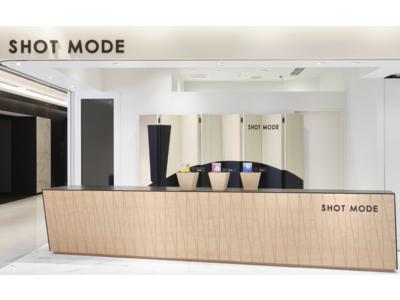 マイクロニードル化粧品ブランド「SHOT MODE」好評につき、GINZA SIXのポップアップストアが来年1月末まで延長決定