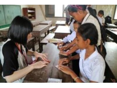 日本 カンボジア ティーンエイジ アンバサダー(高校生交流)事業」を実施